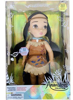 Disney Animators Collection Pocahontas Special Edition Doll for Sale in Miami, FL