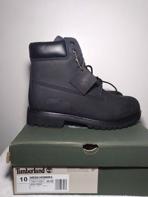 All black timberland for Sale in Chesterfield, VA