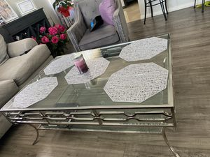 Z Gallerie coffee table CASH ONLY!! for Sale in Los Angeles, CA