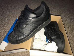 Adidas superstar All black for Sale in New Castle, DE