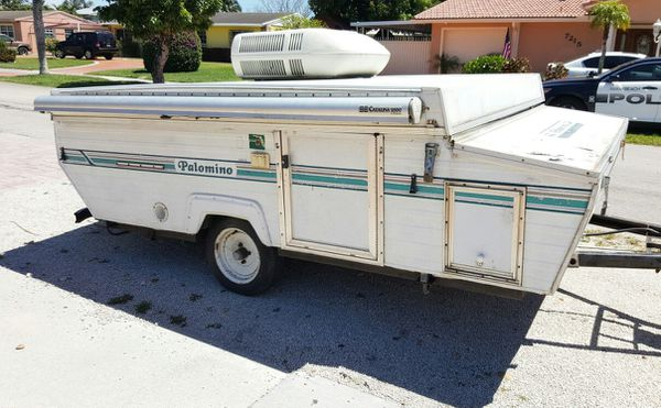 1995 palomino pop up camper $1500 firm AC works clean title