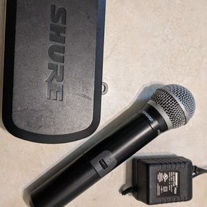 Shure PG58 wireless Mic With Original PG4 Receiver And Original Shure Power Supply for Sale in Daytona Beach, FL