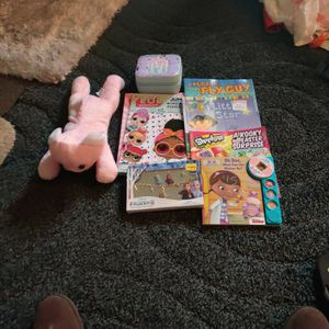 Free Coloring Books And Jewelry Box And Some Child Necklace for Sale in Pomona, CA
