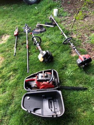 Chainsaw Weedwhacker for Sale in Gig Harbor, WA
