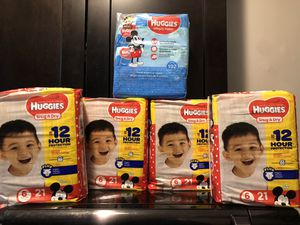 Huggies Bundle size 6 for Sale in Melvindale, MI