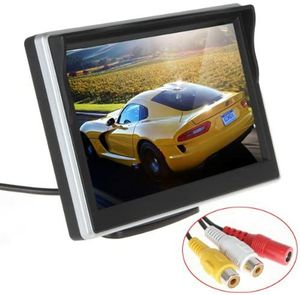 ePathChina 5 inch TFT-LCD High Definition Digital Panel Color Car Rear View Monitor with Front Diaphragm OSD Menu DC 12V LED Backlight 0413 A1 38 for Sale in Montgomery, OH
