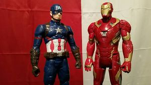 CAPTAIN AMERICA IRON MAN for Sale in Pearland, TX