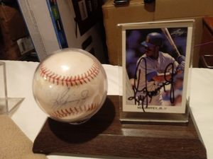 Ken Griffey Jr autographs for Sale in Houston, TX