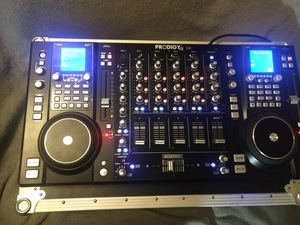 4 channel mixer and CDJ w/onboard FX and Pro Audio i/o for Sale in Federal Way, WA