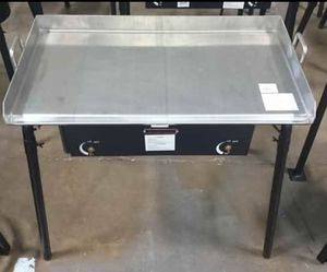 Parrilla de 2 quemadores con plancha for Sale in Tyler, TX