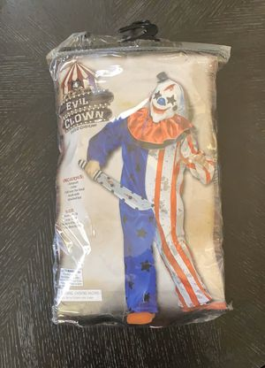 Kids evil clown costume for Sale in Corona, CA