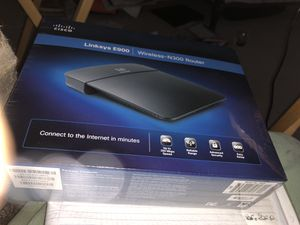 New CISCO Linksys E900 wireless-n300 router for Sale in Gaithersburg, MD