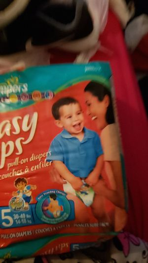 Pampers easy ups for Sale in Irving, TX