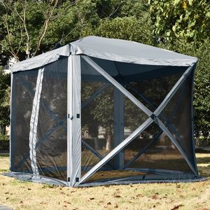 Waterpoof Gazebo Pop Up Portable Uv Resistant Hub Camping Screen Tent for Sale in Lynwood, CA