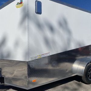 2021 Covered Wagon Motorcycle Trailer 7x14 for Sale in Hudson, FL
