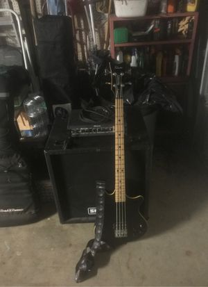 Schecter bass and Ampeg amp for Sale in City of Industry, CA