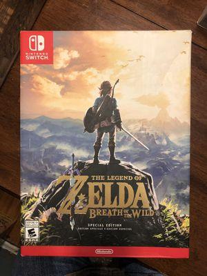 Used - Big Box - Zelda - Nintendo Switch for Sale in Covina, CA