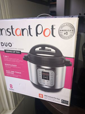8 Qt Instant Pot Duo Brand New for Sale in Oakland, CA