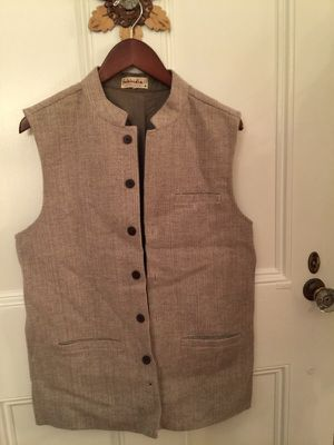 Men's wool vest made in India for Sale in Sudbury, MA
