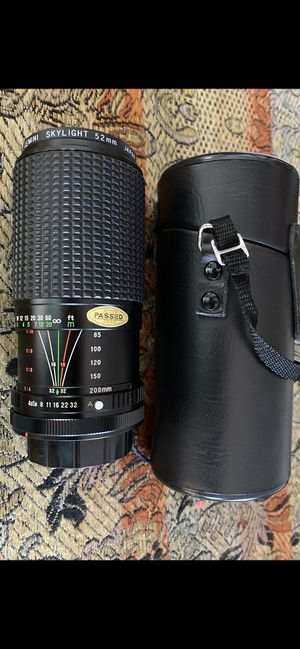 Canon camera lens for Sale in Warren, MI