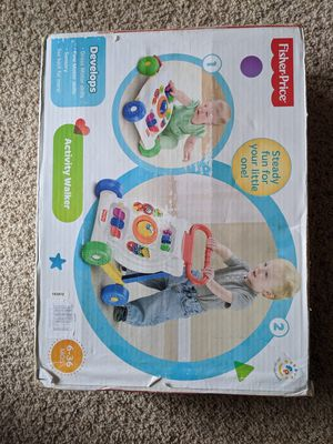 Fisher Price walker for Sale in Morrisville, NC