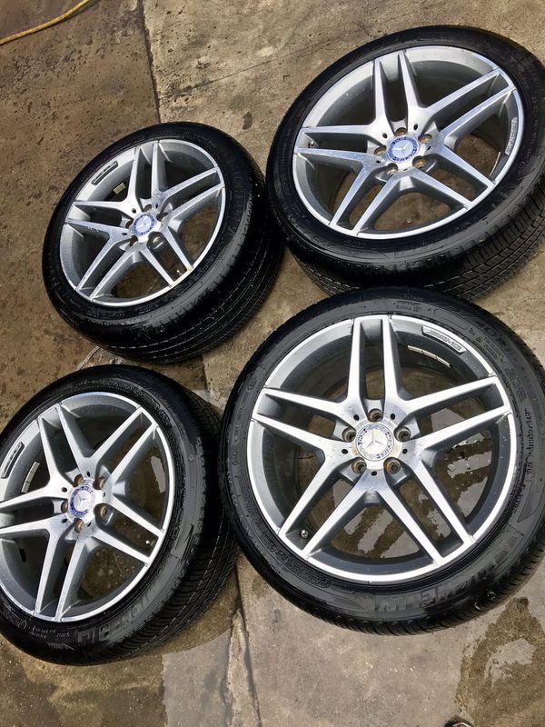 Mercedes rims/wheels/tires