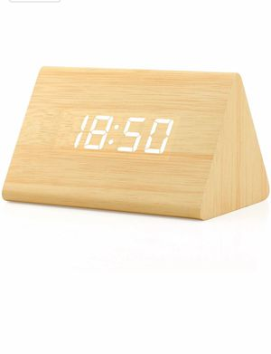 Wooden digital clock for Sale in Fontana, CA