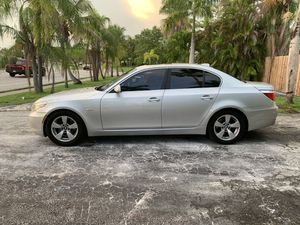 2008 BMW 5 Series Silver - Well Maintained for Sale in Avon Park, FL