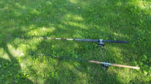 2 Salt Water rods and reels for Sale in Mifflinburg, PA