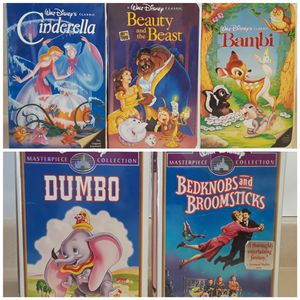 Disney Classic VHS tapes ⭐⭐⭐⭐⭐ for Sale in San Antonio, TX