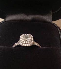 Tiffany & Co platinum and diamond ring .34 carat VS1 for Sale in Kirkland, WA