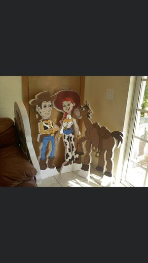 Styrofoam 4feet tall characters for parties for Sale in Coral Gables, FL