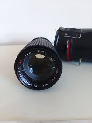 Star-D MC Auto Zoom 80-200mm F3.9 Lens For Canon FD Mount for camera Canon for Sale in Takoma Park, MD