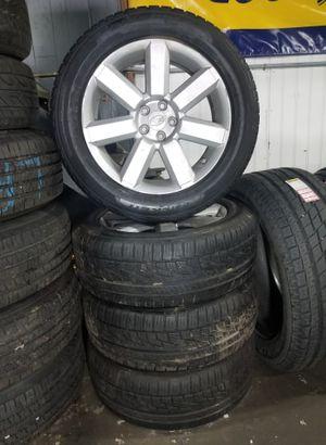 17' Subaru Wheels / Sensors & Falken Tires 225/55/17 75% for Sale in Everett, WA