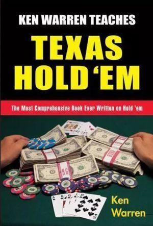 Ken Warren Teaches Texas Hold 'Em Winning At Poker Essential Hints & Tips Scharf for Sale in Denver, CO