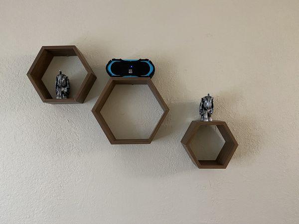 Floating Wall Shelves (Sets of 3)