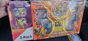 Pokemon 2 pack gift set. for Sale in Las Vegas, NV