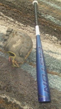 """Easton 32"""" bat -3 rawlings first basemen glove for Sale in Indianapolis,  IN"""