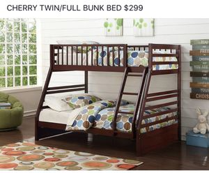 Bunk bed twin and full for Sale in Columbus, OH