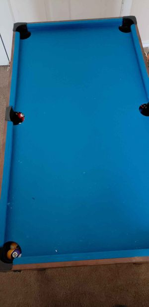 Air hockey, pool table & foosball table for Sale in Dallas, TX