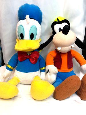 "BUNDLE LOT Goofy Plush Kohl's Cares Stuffed Animal Disney 13"" W Donald Duck for Sale in Fort Worth, TX"