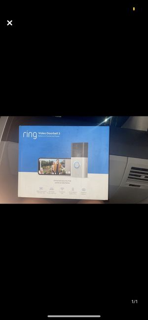 Ring video doorbell 3 for Sale in NEW PRT RCHY, FL