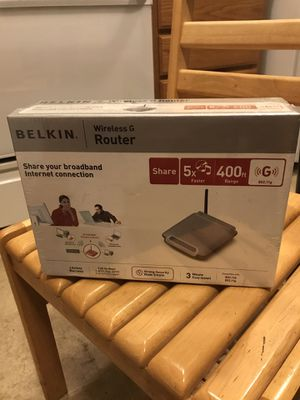 Belkin wireless G router for Sale in Puyallup, WA