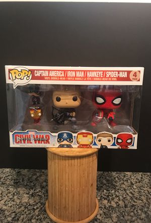Funko Pop Marvel Avengers Spider Man Hawkeye Collectible Figure Action Figures and Keychains for Sale in Denver, CO