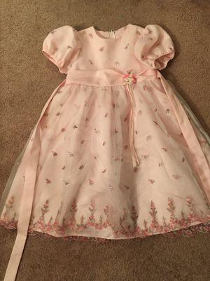 Size 6 Pink Fancy Dress for Sale in Rockville, MD