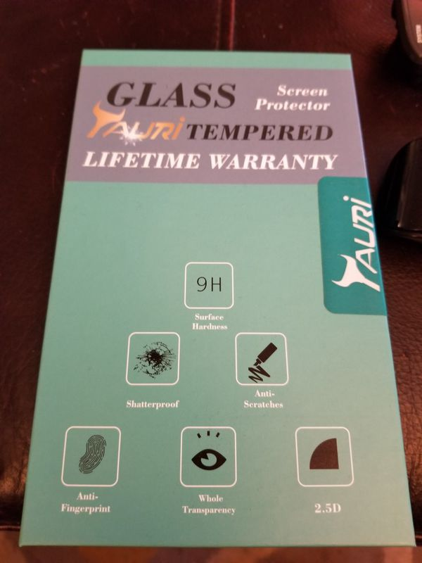 Samsung S7 glass screen protectors pack