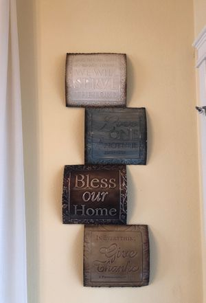 Metal wall decor for Sale in Hillsboro, OR