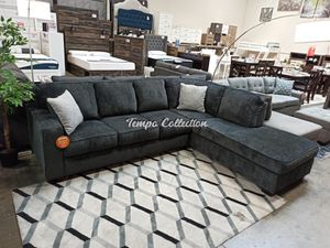 Sectional Couch, Slate, SKU# ASH87213TC for Sale in Norwalk, CA
