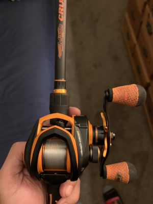 Lews mach crush fishing rod and reel for Sale in Harbor City, CA