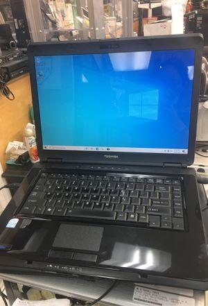 Toshiba computer laptop windows 10 4gb Ram 200gb HDD penguin dual CPU 1.87ghz for Sale in Orlando, FL